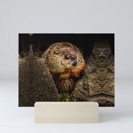 Groundhog Day Mini Art Print