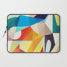 Around The Circle Laptop Sleeve