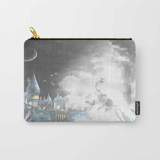 Amongst the clouds Carry-All Pouch