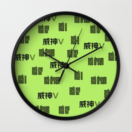 nct Wall Clock
