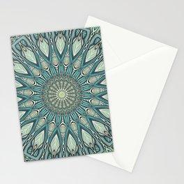 Eye of the Needle Mandala Art Stationery Cards