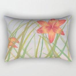 Lily Bloom Rectangular Pillow