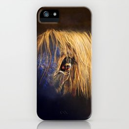 Golden Eye iPhone Case