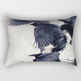 I wish that I could fly ... Rectangular Pillow