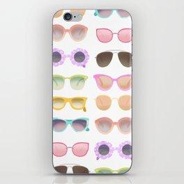 Colorful Sunglasses iPhone Skin