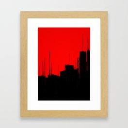 KABUL 3020 Framed Art Print