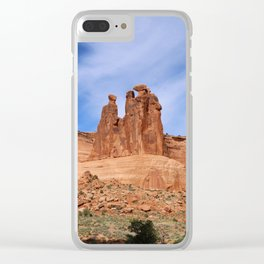 A Nature's Beauty The Gossips Clear iPhone Case