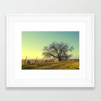 texas Framed Art Prints featuring Texas by Ruby Del Angel