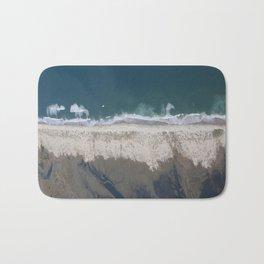 Aerial Beach Photograph: Masonboro Island | Wrightsville Beach NC Bath Mat