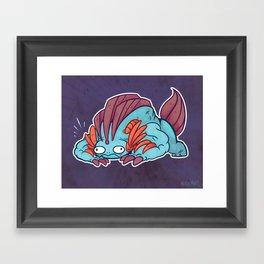 Mega Swamp Framed Art Print