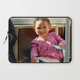 An Uphill Smile, Worth A Zillion Laptop Sleeve