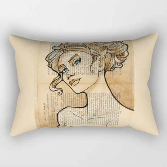 The Iron Woman 5 Rectangular Pillow