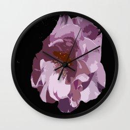 Beautiful Abstract Rose Wall Clock