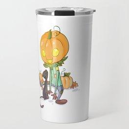 Little jack-o'-lantern Travel Mug