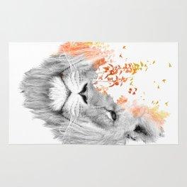 If I roar (The King Lion) Rug