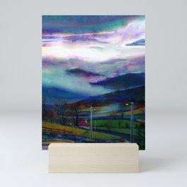 cloudy day Mini Art Print