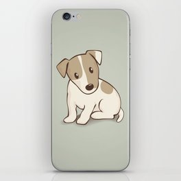 Jack Russell Terrier Dog Illustration iPhone Skin