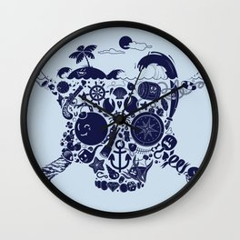 Pirates Stuff Wall Clock
