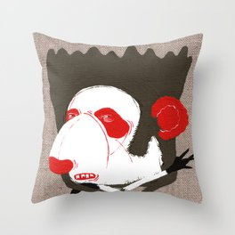 Panda Raino Throw Pillow