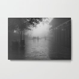New Orleans on a foggy day Metal Print