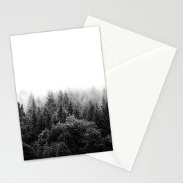 Forest Foggy Stationery Cards