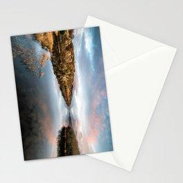 Lake Padarn Sunset Stationery Cards