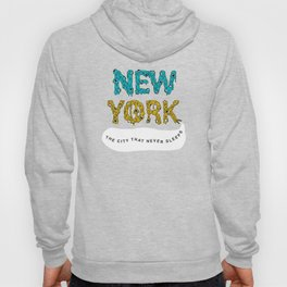 The Melted City, That Never Sleeps. Hoody