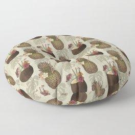 Pineapple Pina Coladas Floor Pillow