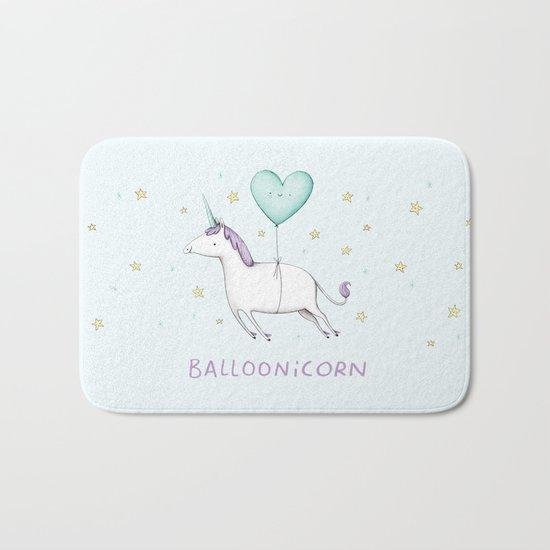 Balloonicorn Bath Mat