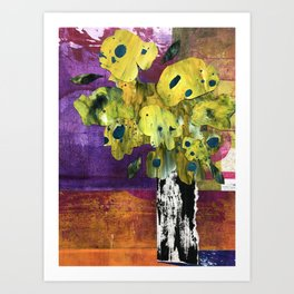 Bouquet 3 Art Print