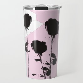 Roses with ink Travel Mug