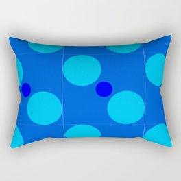 Circle Pattern Rectangular Pillow