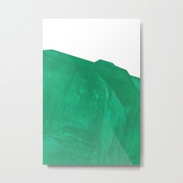 Ultra Emerald Metal Print