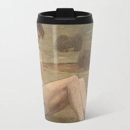 The Prodigal Son by Pierre Puvis de Chavannes Travel Mug