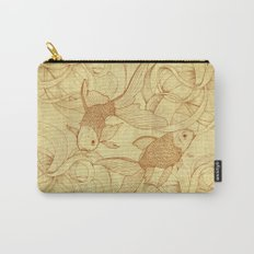 Vintage Goldfishes II Carry-All Pouch