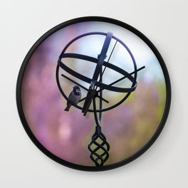 The World AT Your Feet Wall Clock