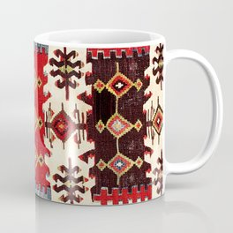 Burdur  Antique South West Anatolia Turkish Kilim Coffee Mug