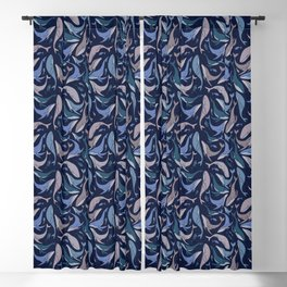 A school of whales Blackout Curtain