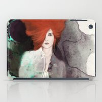 fashion illustration iPad Cases featuring FASHION ILLUSTRATION 11 by Justyna Kucharska