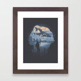 The Last of Us 2 Poster Series - Owens Aquarium Framed Art Print