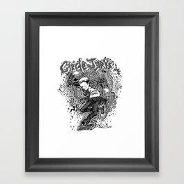 Circle Jerks Framed Art Print