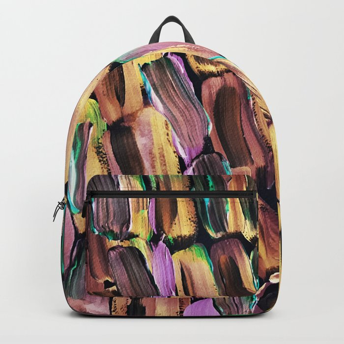 Neon Nighttime Sugarcane Backpack