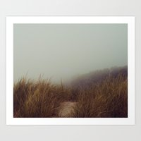fog Art Prints featuring fog by elle moss