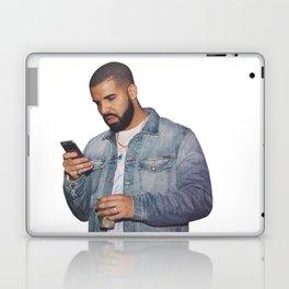 drake text Laptop & iPad Skin