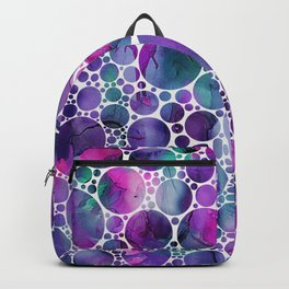 Dots on Painting Background 4 Backpack
