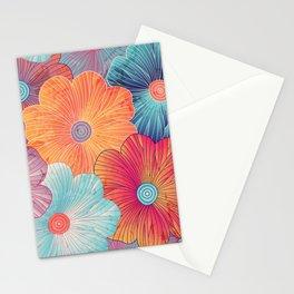 Big flowers Stationery Cards