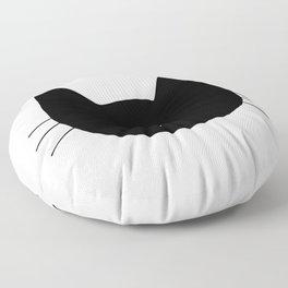 Cat Heart Nose Floor Pillow