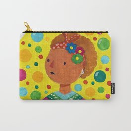 Gouache lady Carry-All Pouch
