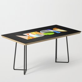 Music Typography Coffee Table