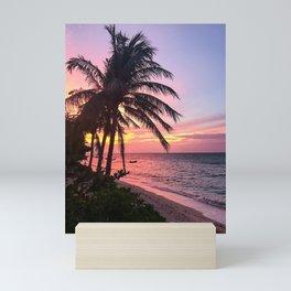 Sunset in Koh Samui Mini Art Print